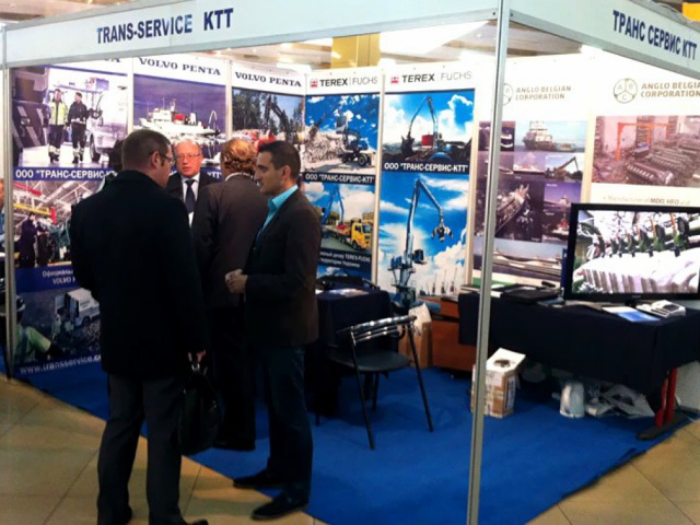 Participation in the international exhibition on transport and logistics