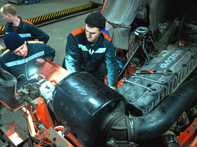 OPENING OF THE SECOND MAINTENANCE STATION OF VOLVO AND RENAULT TRUCKS IN CHERNOMORSK