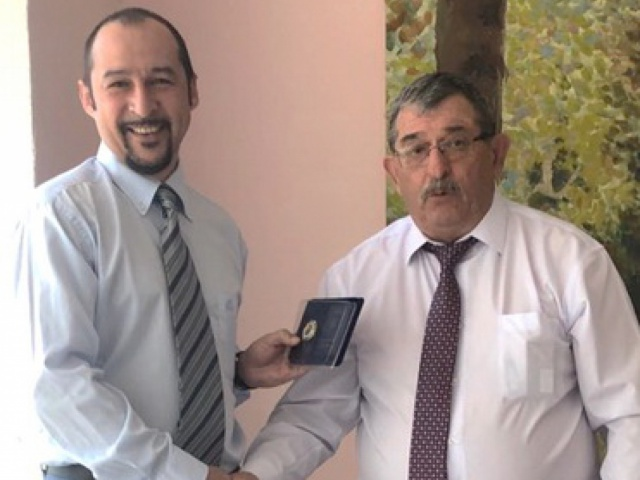 "On awarding the Technical Director of LLC ""TRANS-SERVICE-KTT"" V.L. PASHCHENKO"