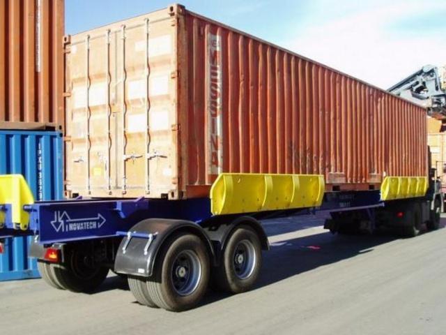 Поставка шести терминальных трейлеров NOVATECH TT 65т/45