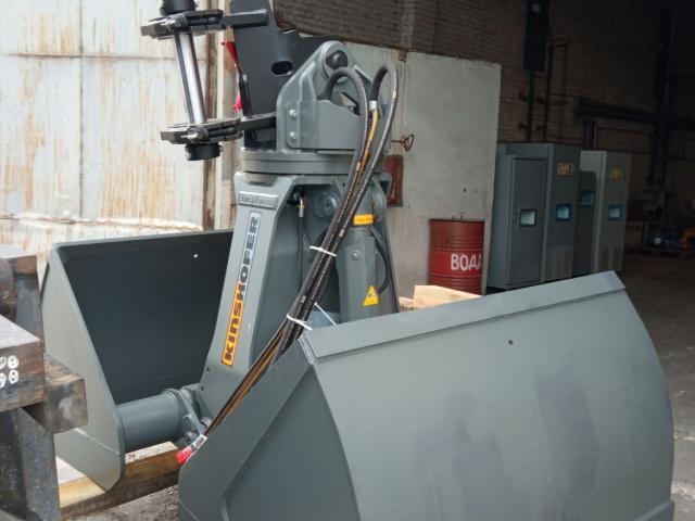 Поставка и ввод в эксплуатацию гидравлического грейфера производителя KINSHOFER