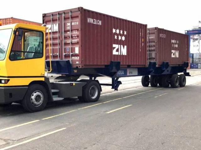 Поставка шести портовых тягачей TERBERG модели YT222 4x2